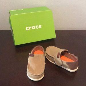 CROCS Shoes - Children's Canvas Crocs